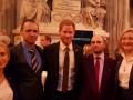 Украинский пограничник встретился с принцем Гарри