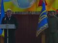 Знаменосец Порошенко потерял сознание