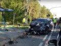 Внедорожник протаранил легковушку под Киевом: трое погибших