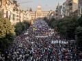 В Праге крупнейшая за тридцать лет акция протеста