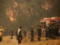 Лесные пожары в Греции: эвакуированы сотни туристов