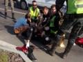 В Киеве мотоциклисту оторвало ногу в ДТП