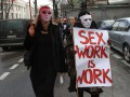 Проститутки провели марш в Киеве и передали властям свой законопроект
