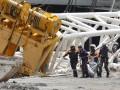 На стадион, где будет проходить ЧМ-2014, рухнул кран. Есть жертвы