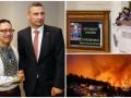 День в фото: Петр Порошенко в Раде, Виталий Кличко в Токио и пожары в Португалии