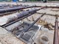 В Киеве возле будущей станции метро Ипподром строители повредили газопровод