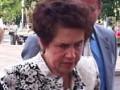 Жена Януковича посмотрела на воинов УПА в в Донецке (ФОТО)