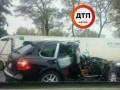 В Киеве Porsche протаранил четыре авто, есть пострадавшие