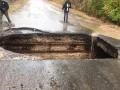 Под Одессой обвалился мост: маршрутки продолжают ездить