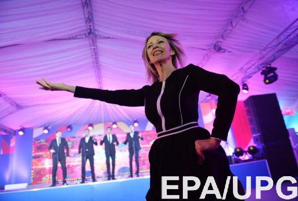 Захарова отметила, что в данную минуту идет работа над проектом резолюции