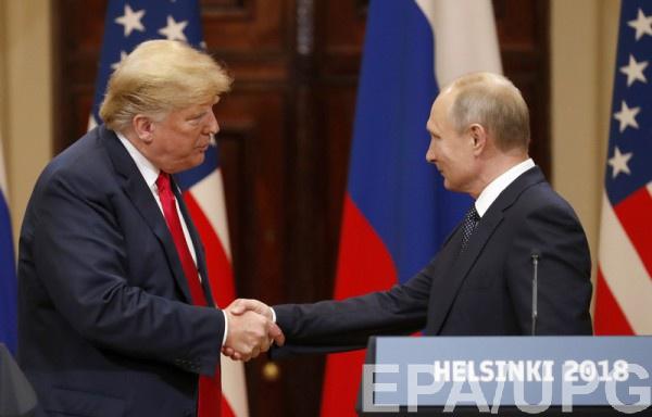 Трамп может обсудить с Путиным Украину