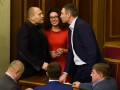 Кандидатов в мэры Киева Кличко и Березу заметили за оживленной беседой