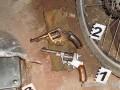 У харьковчанина полиция нашла два пистолета и почти тысячу патронов
