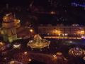 Новогоднюю ночь в Киеве показали с высоты птичьего полета