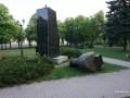 В Харькове повалили бюст маршала Жукова