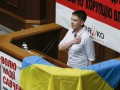 Первый день Савченко в Раде: фоторепортаж
