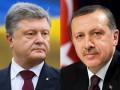 Порошенко обсудил с Эрдоганом свободную торговлю