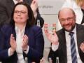 Партия Шульца проголосовала за начало переговоров о
