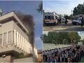 Итоги выходных: Похороны Каримова, пожар на Интере и попытка рейдерского захвата в Киевской области