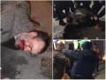 В Киеве засняли дебош двух неадекватных братьев