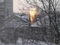 В Донецке из-за обстрелов загорелся газопровод