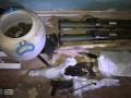 В центре Киева обнаружили тайник с оружием и взрывчаткой