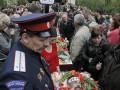 День в фото: похороны «героев Донбасса» и взрыв АЗС