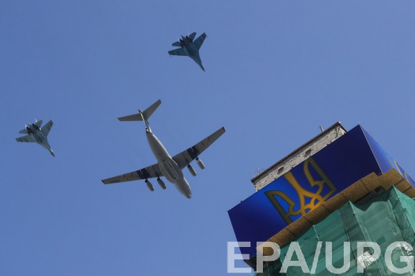 Самолеты над Крещатиком в этом году не полетят