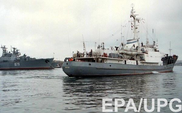 Украина объявила подозрение в захвате кораблей командующему ЧФ РФ
