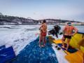 Крещение 2016: киевляне искупались в Днепре