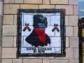 На Грушевского стерли граффити времен Майдана