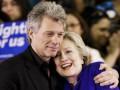 Выборы в США: Знаменитости предпочитают Клинтон