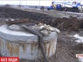Полностью разрушен коллектор: Лозовая без воды