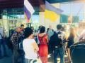 В Москве прошел пикет против российского вторжения в Украину