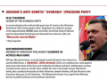Центр Визенталя включил Тягнибока и Мирошниченко в топ-10 антисемитов мира