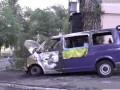 В Николаеве сожгли автомобиль активиста, который дрался с Царевым