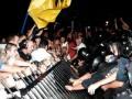 Фотогалерея: Как это было. Волнения у Святошинского РОВД в Киеве