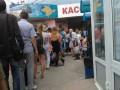 В Крыму огромные очереди из-за новых правил покупки билетов