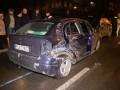 Ночью в Киеве столкнулись три авто