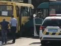 Под Киевом столкнулись три маршрутки, есть пострадавшие