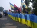 В Борисполе перекрыли движение крестному ходу