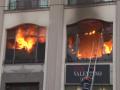 Во Львове горел торговый центр, пострадавших нет