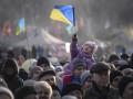 На Майдане проходит восьмое Народное Вече, в оцеплении под АП стоят срочники внутренних войск