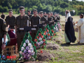 Под Запорожьем похоронили полсотни безымянных солдат