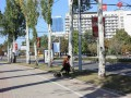 Боевики на билбордах и пустынные улицы: фоторепортаж из Донецка