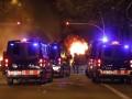 Протестующие в Испании обстреляли вертолет и бросали кислоту в полицию