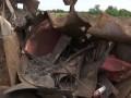 Возле Кропивницкого разворовали свалку радиоактивных отходов