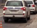 Авто ОБСЕ попало в аварию в Донецке