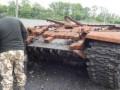 На Донбассе обнаружен подбитый российский танк и запрещенные мины