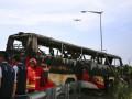 В туристическом автобусе в Тайване заживо сгорели 26 человек